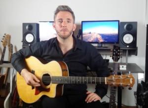 Gitarre - Moderne Haltung
